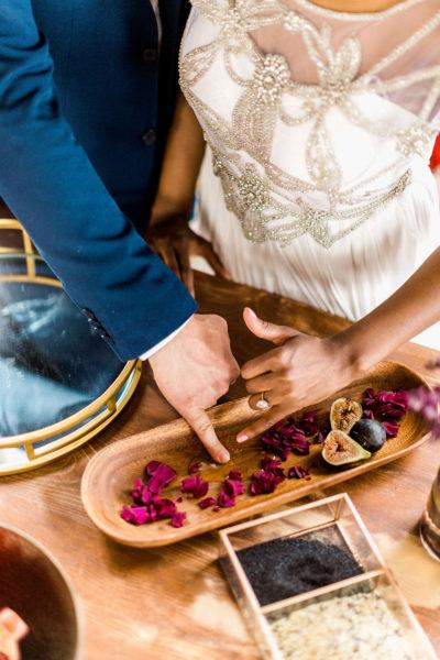 rituel du sofreh aghd ceremonie mariage persan iranien miel aria