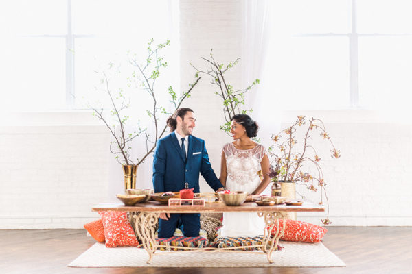 rituel sofreh agdh mariage iranien boho chic aria ceremonie laique