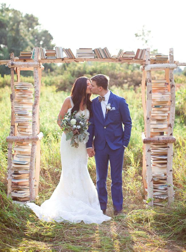 rituel de la bibliothèque des amoureux aria ceremonie mariage laique mariés amour