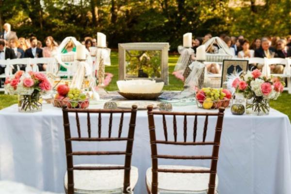 rituel du Sofreh Aghd mariage cérémonie laïque aria