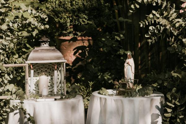 rituel bougies bouquet à la vierge aria ceremonie laique