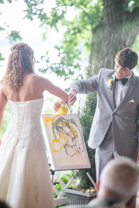 rituel du tableau aria mariage laique ceremonie