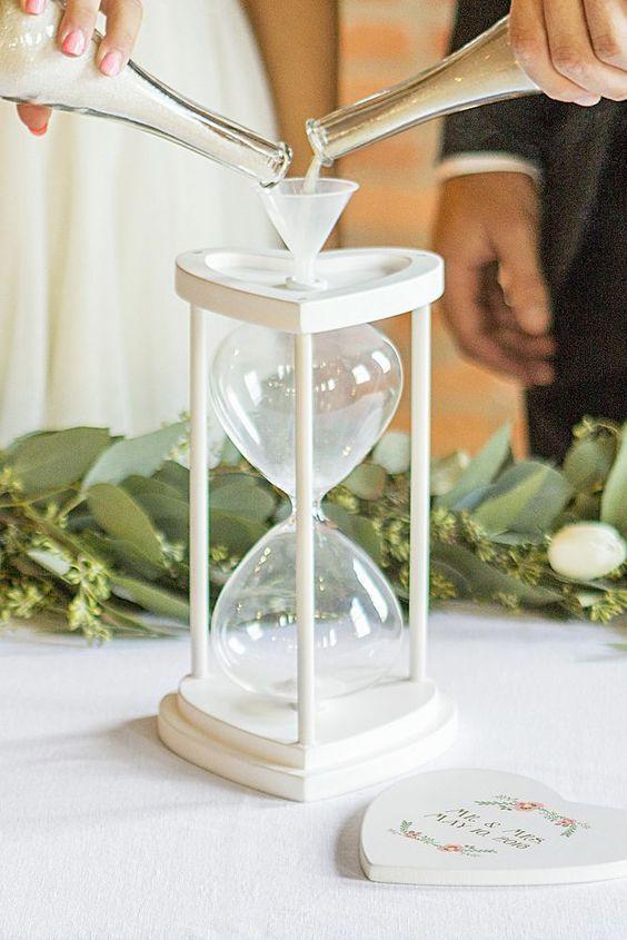 rituel du sable mariage laique cérémonie aria