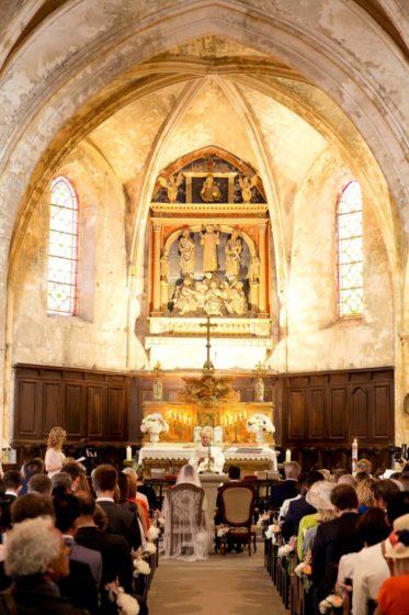 cérémonie mariage église chanteuse lyrique émotion aria