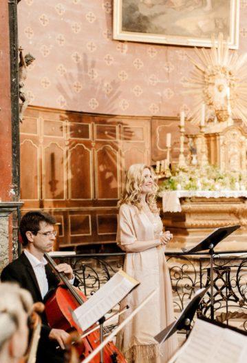mariage église cérémonie messe bénédiction chanteuse lyrique ariage aria