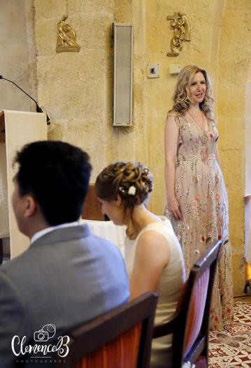 mariage église cérémonie aria chanteuse émotion ave maria