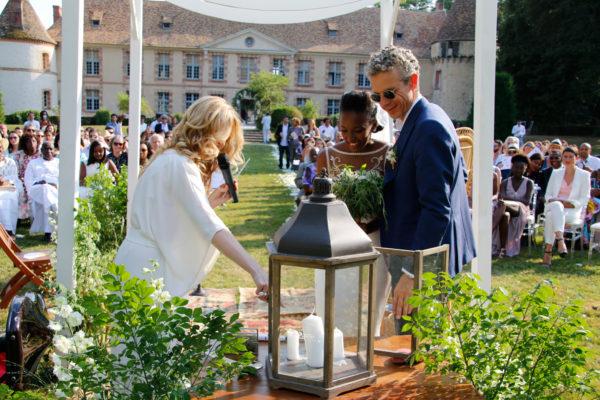 rituel des bougies dit rituel de la lumière ceremonie laique aria