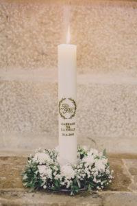 rituel bougie unité lumière unity candle aria