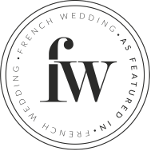 featured on frenchweddingstyle logo