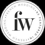 featured on frenchweddingstyle logo