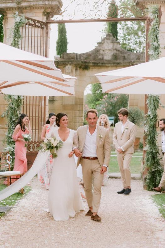 aria ceremonie laique officiant vaucluse mariage chateau recession