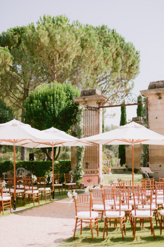 decor cérémonie laïque aria vaucluse chateau officiant