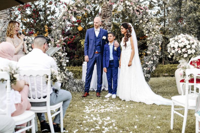 ceremonie laique marrakech mariage aria officiant