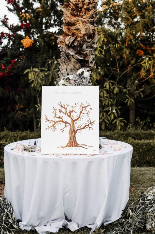 rituel de l'arbre à empreintes officiant ceremonie laique aria marrakech