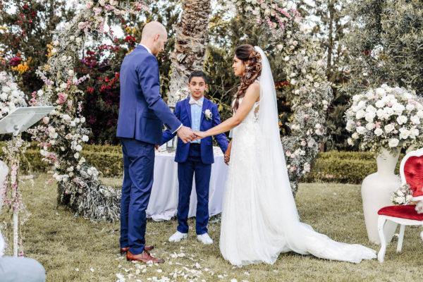 ceremonie laique aria marrakech mariage famille rituel