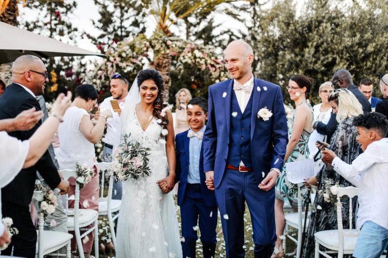aria officiant ceremonie laique marrakech mariage sortie