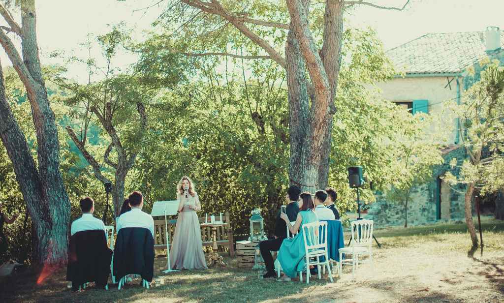 aria officiant cérémonie laÏque Alpes de Haute Provence elopement