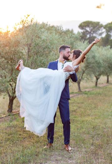 se marier a deux mariage intime aria elopement en Provence