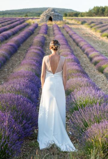 elopement en Provence lavandes lubéron aria mariage intime