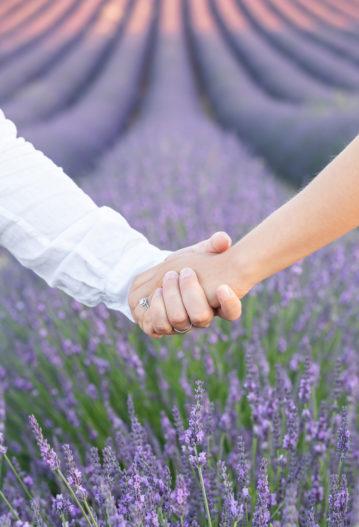 mariage intime elopement en Provence lavandes vaucluse aria